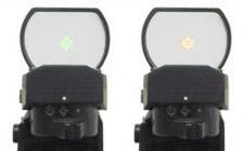 ドットパターンの色は緑と赤から選択可能